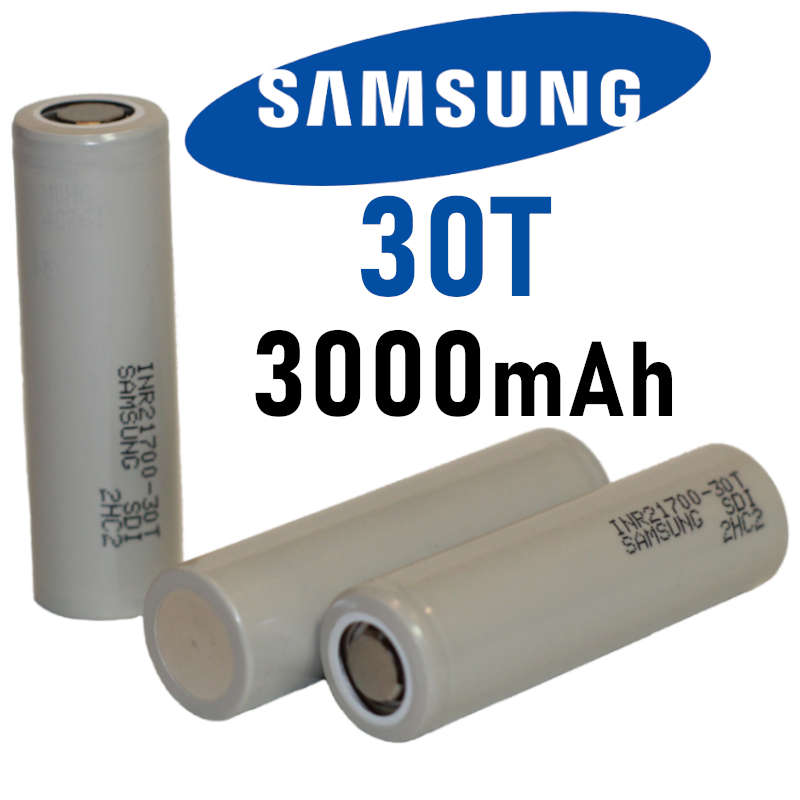 Samsung 30t 21700 Battery 6 89 Lowest Prices On